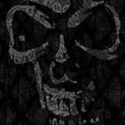 Raven Skull Poster