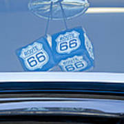 Rear View Mirror Dice Poster