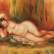 Reclining Bather Poster