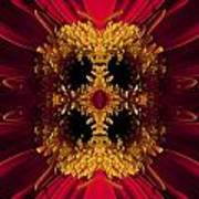 Red Flower Art Poster