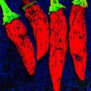 Red Hot Chili Poster