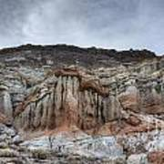Red Rock Canyon Cliffs Poster