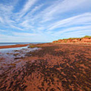 Red Sands Low Tide Poster