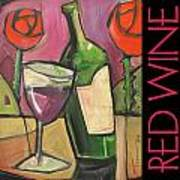 Red Wine Poster Poster