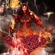 Red Woman Poster