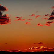 Reds Of An Autumn Sky Poster