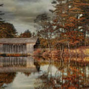 Reflections Of Autumn Poster by Robin-Lee Vieira