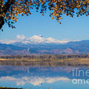 Reflections Of Longs Peak  Poster