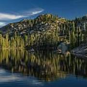 Reflections On Salmon Lake Poster