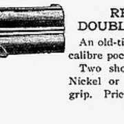 Remington Double Derringer Poster