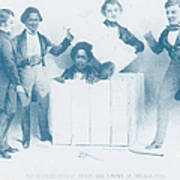 Resurrection Of Henry Box Brown Poster by Photo Researchers