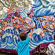 Rex Mardi Gras Parade Viii Poster