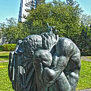 Reykjavik Iceland Statue - 02 Poster