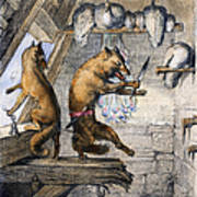Reynard The Fox, 1846 Poster
