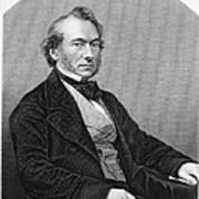 Richard Cobden (1804-1865). /nenglish Politician And Economist. Steel Engraving, English, 19th Century Poster