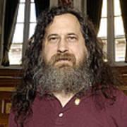 Richard Stallman, Software Developer Poster