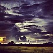 Riders Of The Storm #sky #clouds #drama Poster