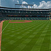 Right Field Of Oriole Park At Camden Yard Poster