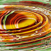 Rippled Abstract Poster