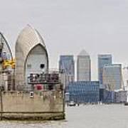 River Thames Landscape Poster