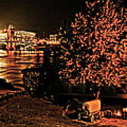 Riverfront 1865-2003 Tall Stacks  By Randall Branham Poster