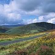 Road Through A Mountain Range, County Poster