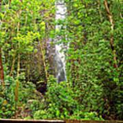 Roadside Waterfall Poster