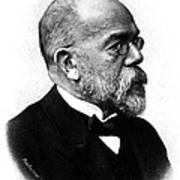 Robert Koch, German Microbiologist Poster