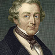 Robert Peel, British Prime Minister Poster by Sheila Terry