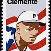 Roberto Clemente Poster