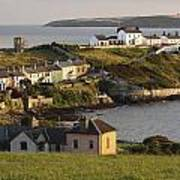 Roches Point Lighthouse In Cork Harbour Poster