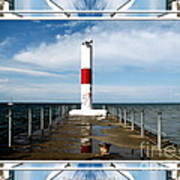 Rochester New York Harbor Lighthouse Poster