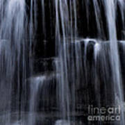 Rock Glen Water Falls Poster