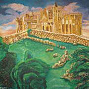 Rock Of Cashel-ireland Poster by John Keaton