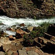 Rock Rush Glen Alpine Creek Poster