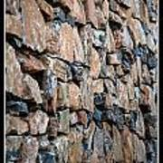 Rock Wall Poster by Miguel Capelo