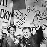 Rockefeller Family.  Mary Clark Poster by Everett