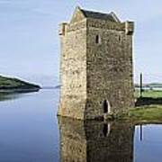 Rockfleet Castle On Clew Bay, County Poster