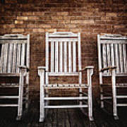 Rocking Chairs Poster