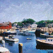 Rockport Maine Harbor Poster