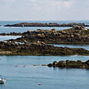Rocky Moorings Iles Chausey  Poster