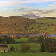 Roe House Overlooks Ullswater Near Pooley Bridge In The Lake District Poster