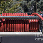 Rolled Fire Hose Poster