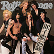 Rolling Stone Cover - Volume #612 - 9/5/1991 - Guns 'n Roses Poster