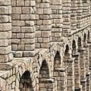 Roman Aqueduct Segovia Poster