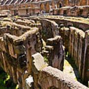 Roman Coliseum Underground Poster