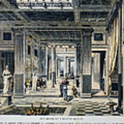 Roman House Interior Poster