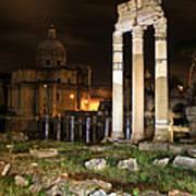 Roman Ruins 1 Poster