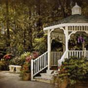 Romantic Garden Poster