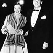 Ronald And Nancy Reagan Attended Poster by Everett